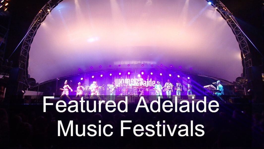 Featured Adelaide Music Festivals